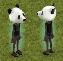 Panda head 1