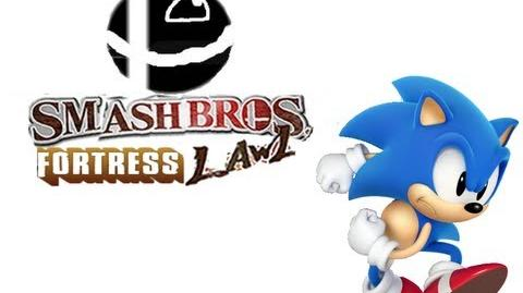 Smash Bros Fortress Lawl Moveset - Classic Sonic