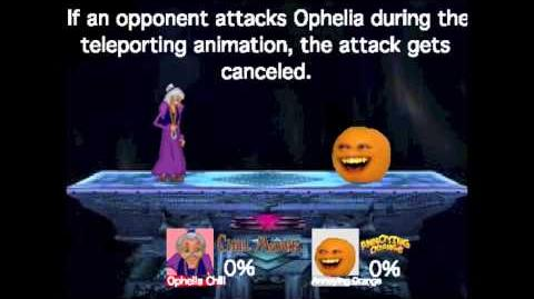 Smash Bros Lawl Moveset- Ophelia Chill