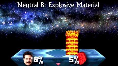 Failed Smash Bros Lawl Moveset Waligie