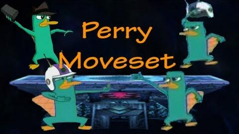 Super Cartoon Bros Brawl Moveset - Perry The Platypus