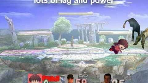 Smash Bros Lawl Character Moveset - Madotsuki