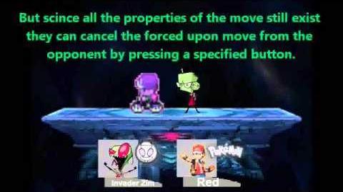 Smash Bros Lawl Infinity Character Moveset - Invader Zim