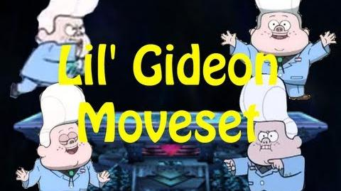 Super Cartoon Bros Brawl Moveset - Gideon