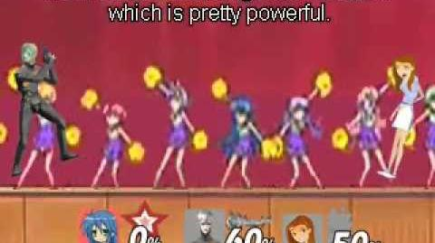 Smash bros Lawl X Character Moveset - Konata