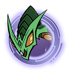 Green Hydra - Purple Ring