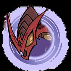 Red Hydra - Purple Ring