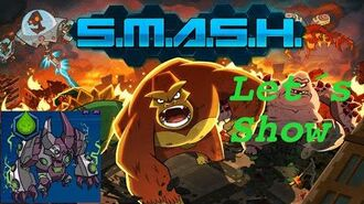 SMASH MONSTERS LET´S SHOW GREEN CRAGG