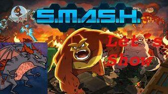 SMASH MONSTERS LET´S SHOW RED MOGU