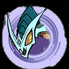 Blue Hydra - Purple Ring