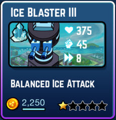 Ice Blaster III Plate