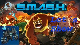 SMASH MONSTERS LET´S SHOW BLUE CRAGG