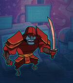 Warrior Ginsu 1