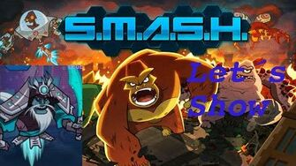 SMASH MONSTERS LET´S SHOW BLUE GINSU
