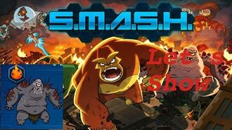SMASH MONSTERS LET´S SHOW RED BARF