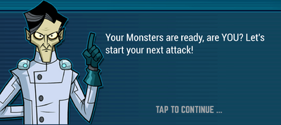 Tutorial Guy - Monsters Ready