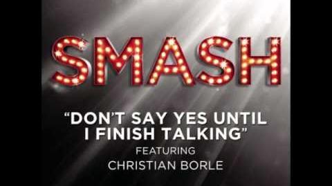 Smash - Don't Say Yes Until I Finish Talking HD Full Studio
