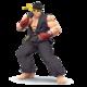 SSB4 Ryu noir