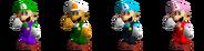Couleurs Luigi 64