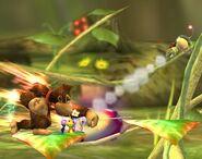 Donkey Kong attaques Brawl 6