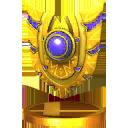 Trophée Bouclier dorsal 3DS
