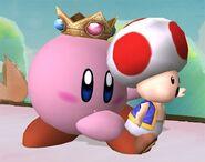 Kirby attaques Brawl 4