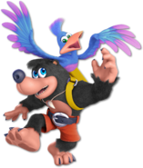 Art Banjo & Kazooie noir Ultimate