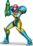 Art Samus bleu Ultimate