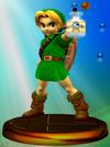 Trophée Link Enfant Smash