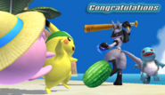 Félicitations Lucario Brawl All-Star