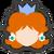 Icône Daisy bleu Ultimate