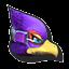 Icône Falco violet U