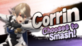 Splash art Corrin SSB4