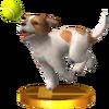 Trophée Parson Russell terrier 3DS