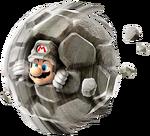 Art Mario de pierre Galaxy 2
