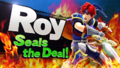 Splash art Roy SSB4