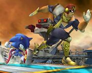 Captain Falcon Profil Brawl 3