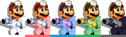 Couleurs Dr. Mario Melee