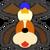 Icône Duo Duck Hunt orange Ultimate