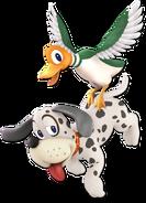 Art Duo Duck Hunt blanc Ultimate