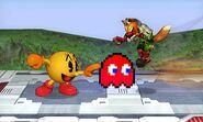 Attaque Smash Coté Pac-Man