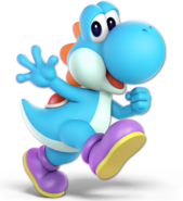 Art Yoshi bleu clair Ultimate