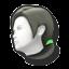 Icône Entraîneuse Wii Fit vert U