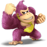 Art Donkey Kong rose Ultimate