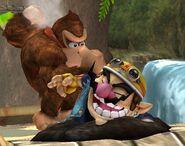Donkey Kong attaques Brawl 10