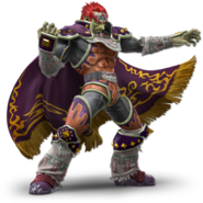 Art Ganondorf rouge Ultimate