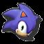 Icône Sonic orange U
