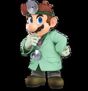 Art Dr. Mario vert Ultimate