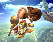 Donkey Kong attaques Brawl 1
