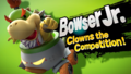 Splash art Bowser.Jr SSB4